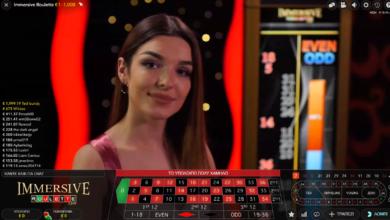 Νόμιμα καζίνο με Immersive Roulette