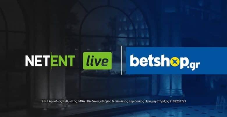 Photo of Betshop.gr | Και η NETENT live στο Casino σου
