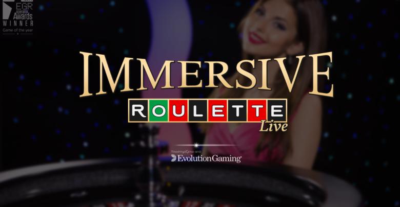 Νόμιμα Καζίνο με Immersive Roulette της Evolution Gaming
