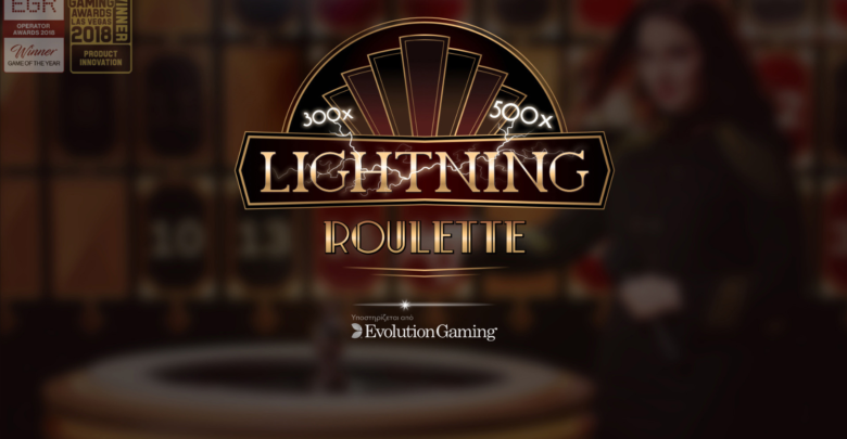 Νόμιμα καζίνο με Lightning Roulette της Evolution Gaming