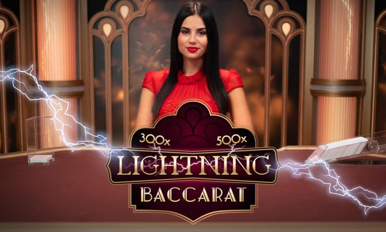 Το Lightning Baccarat έφτασε στο καζίνο της Novibet!